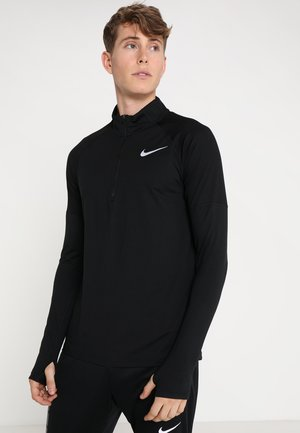 DRY TOP 2.0 - Sports shirt - black/reflective silver