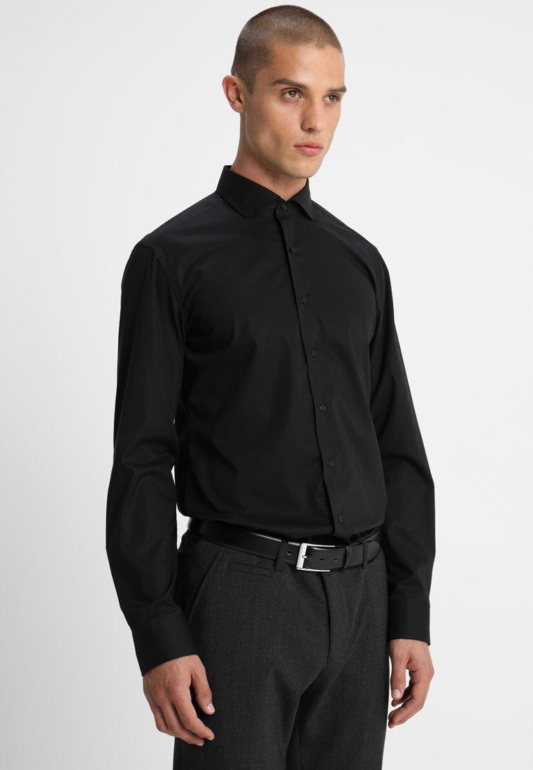 Eterna - SLIM FIT HAI - Formal shirt - black