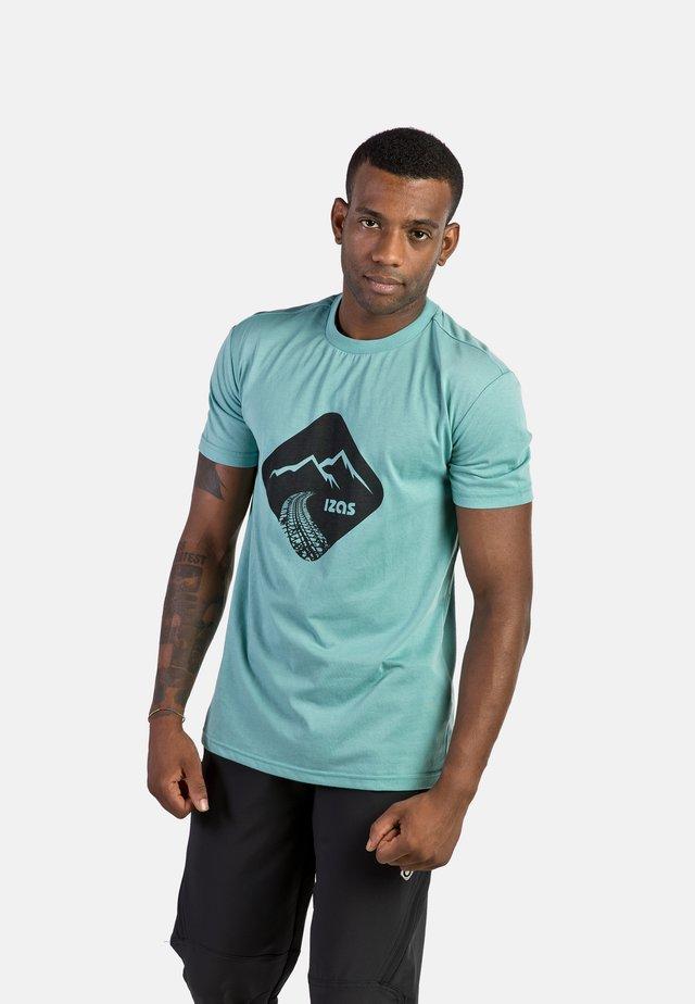 T-shirt con stampa - wasabi