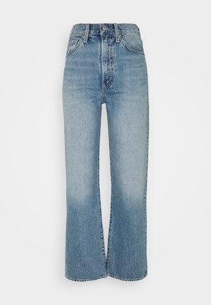 WELLTHREAD RIBCAGE ANKLE - Jeans straight leg - moon stone indigo
