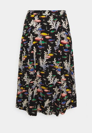 LORI SKIRT - A-line skirt - black