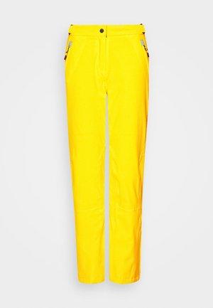 WOMAN  - Spodnie narciarskie - yellow