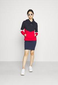 Tommy Jeans - BODYCON SKIRT - Mini skirt - twilight navy - 1