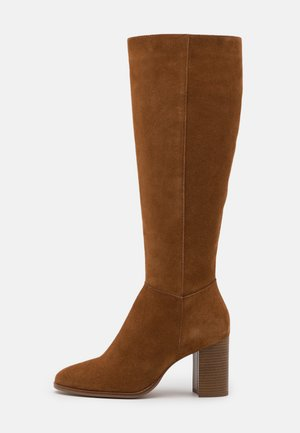 LEATHER - Stiefel - beige