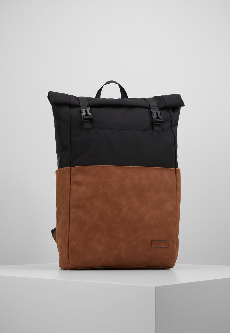 Pier One - UNISEX - Plecak - brown/black