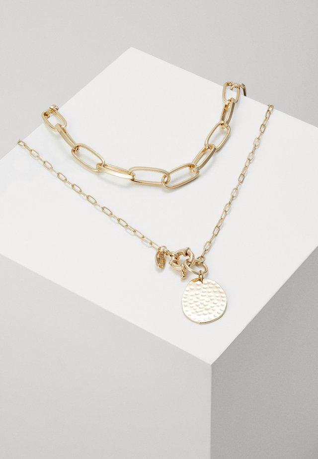 COIN MULTIROW SET - Náhrdelník - gold-coloured