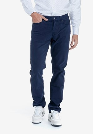 Straight leg jeans - blu scuro