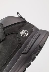 Timberland - FIELD TREKKER MID - Lace-up ankle boots - black - 9