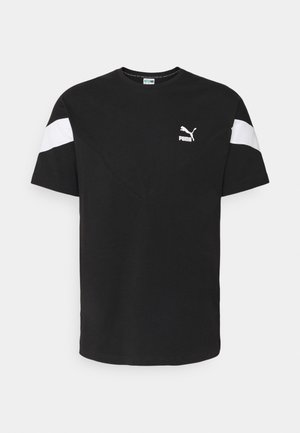 ICONIC TEE - Print T-shirt - black