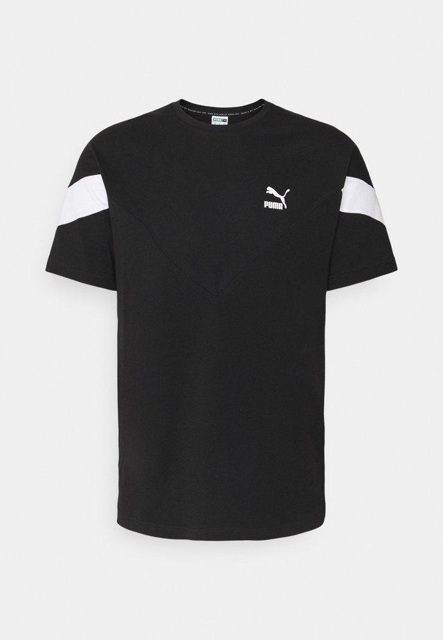 ICONIC TEE - Camiseta estampada - black