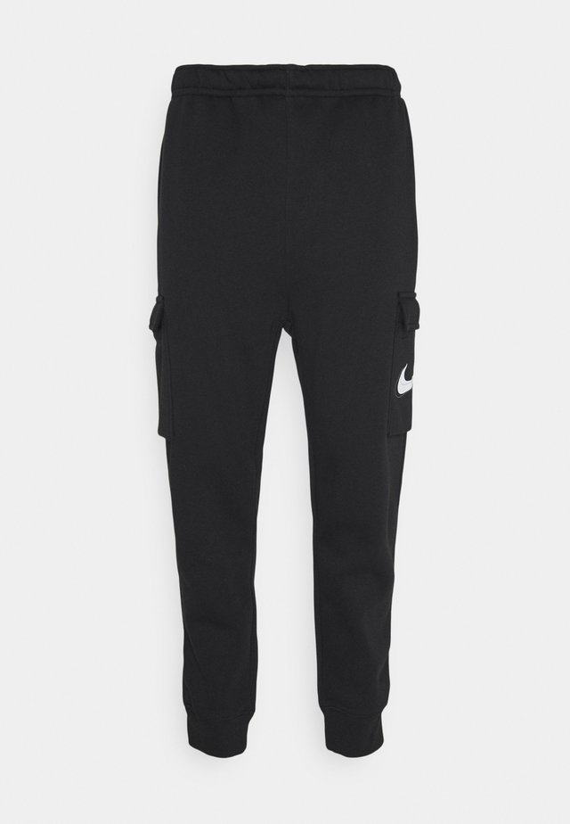 COURT PANT - Pantalones cargo - black