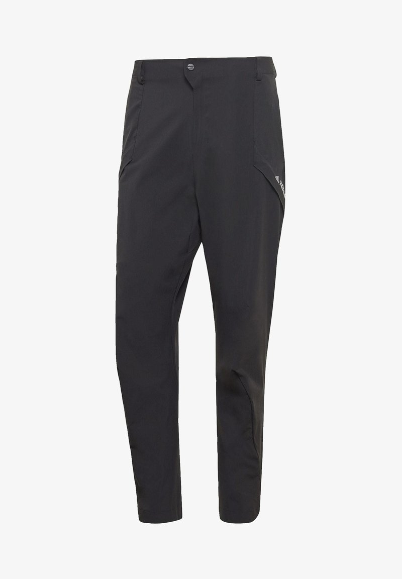 adidas Performance - TERREX HIKE TROUSERS - Trousers - black