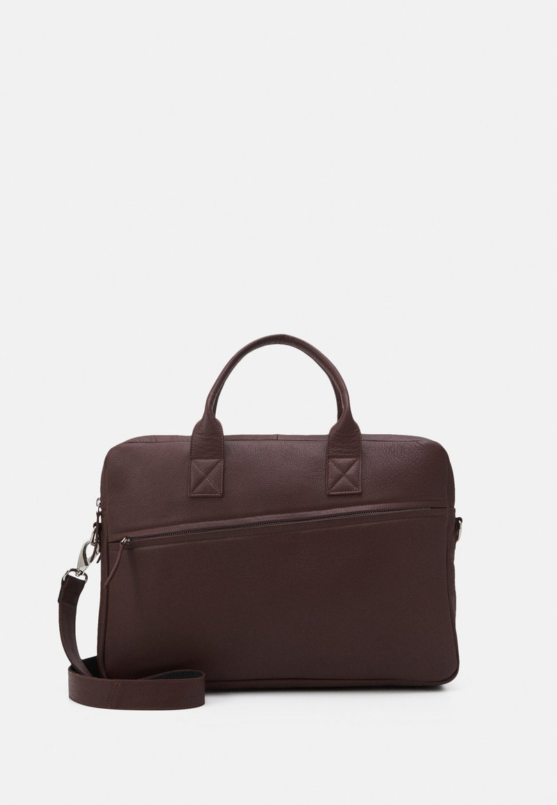 Still Nordic - CITY BRIEF ROOM - Taška na laptop - brown