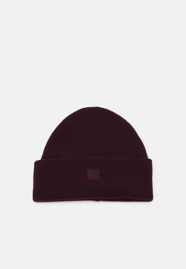 BEANIE UNISEX - Mütze - bordaux