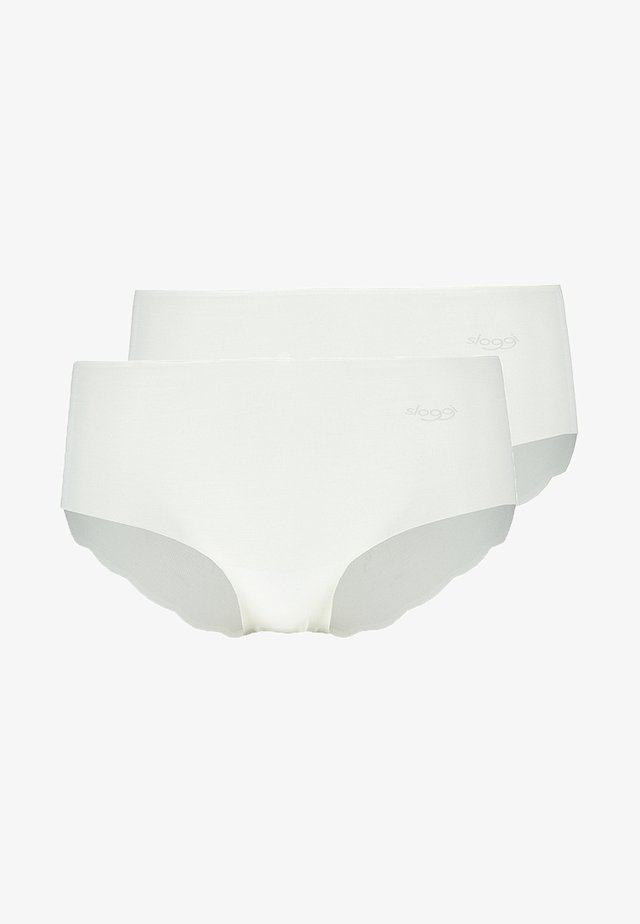 SHORT 2 PACK - Culotte - white