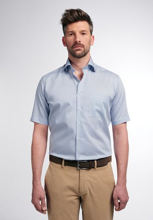 MODERN FIT - Overhemd - gelb/blau