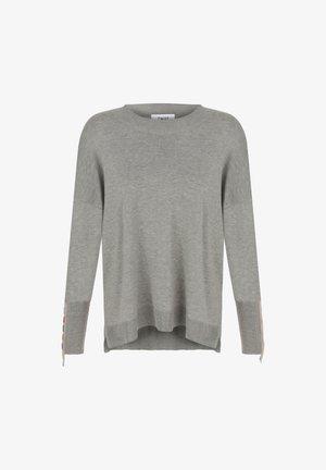 EMBROIDERED - Jumper - grey