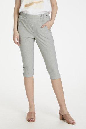 JILLIAN SOFIE - Shorts - light grey melange