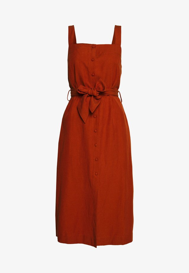 HIGHMEAD DRESS - Korte jurk - leather brown