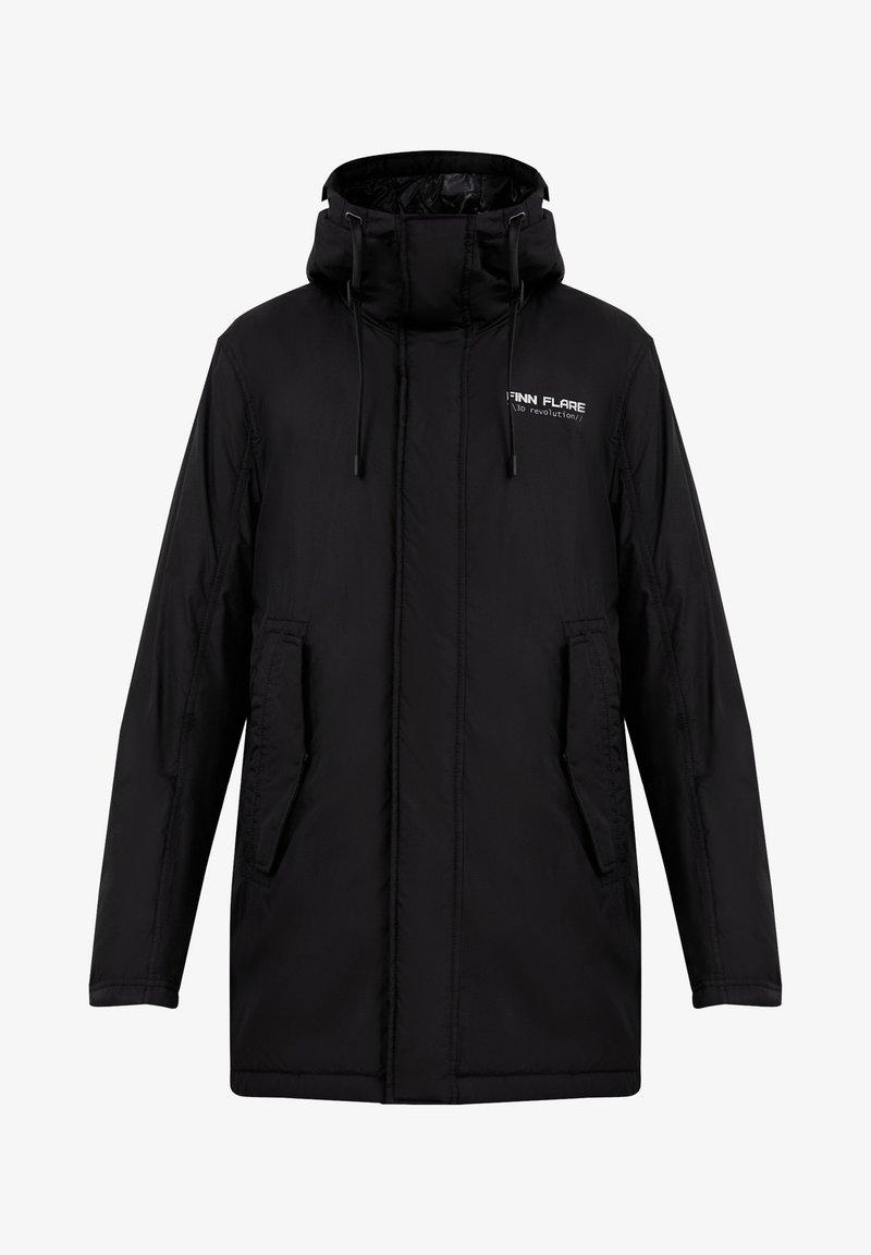 Finn Flare - Winter coat - black