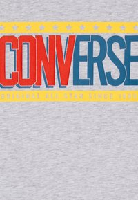 Converse - COLLEGIATE MIX UP TEE - Langarmshirt - lunar rock heather - 2