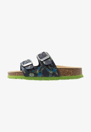Domácí obuv - blau