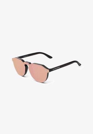 WARWICK VENM HYBRID - Okulary przeciwsłoneczne - black/rose gold-coloured