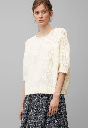 KURZARM-STRICKPULLOVE - Sweter - off white