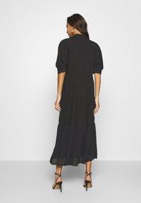 Never Fully Dressed - PANEL MAXI DRESS - Denní šaty - black - 2