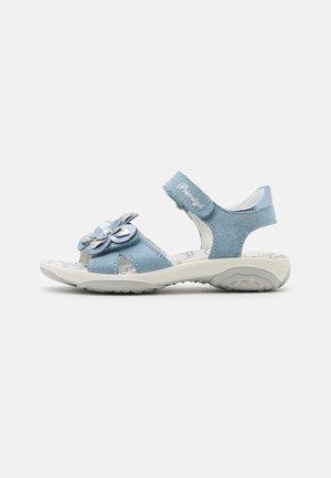 Sandaalit nilkkaremmillä - cielo/laguna