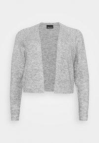 Pieces Curve - PCAMALIE CROPPED CARDIGAN  - Cardigan - light grey melange - 3