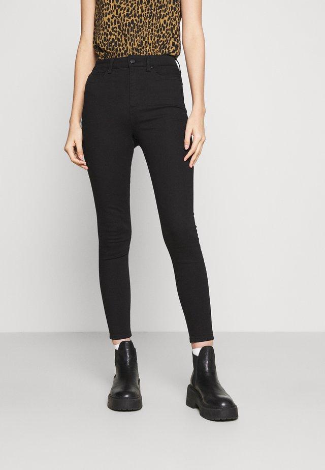 BELLA HIGH RISE SCULPTING  - Skinny džíny - black