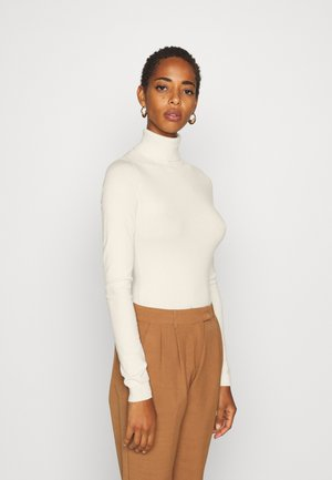 VMHAPPY BASIC ROLLNECK - Strickpullover - birch