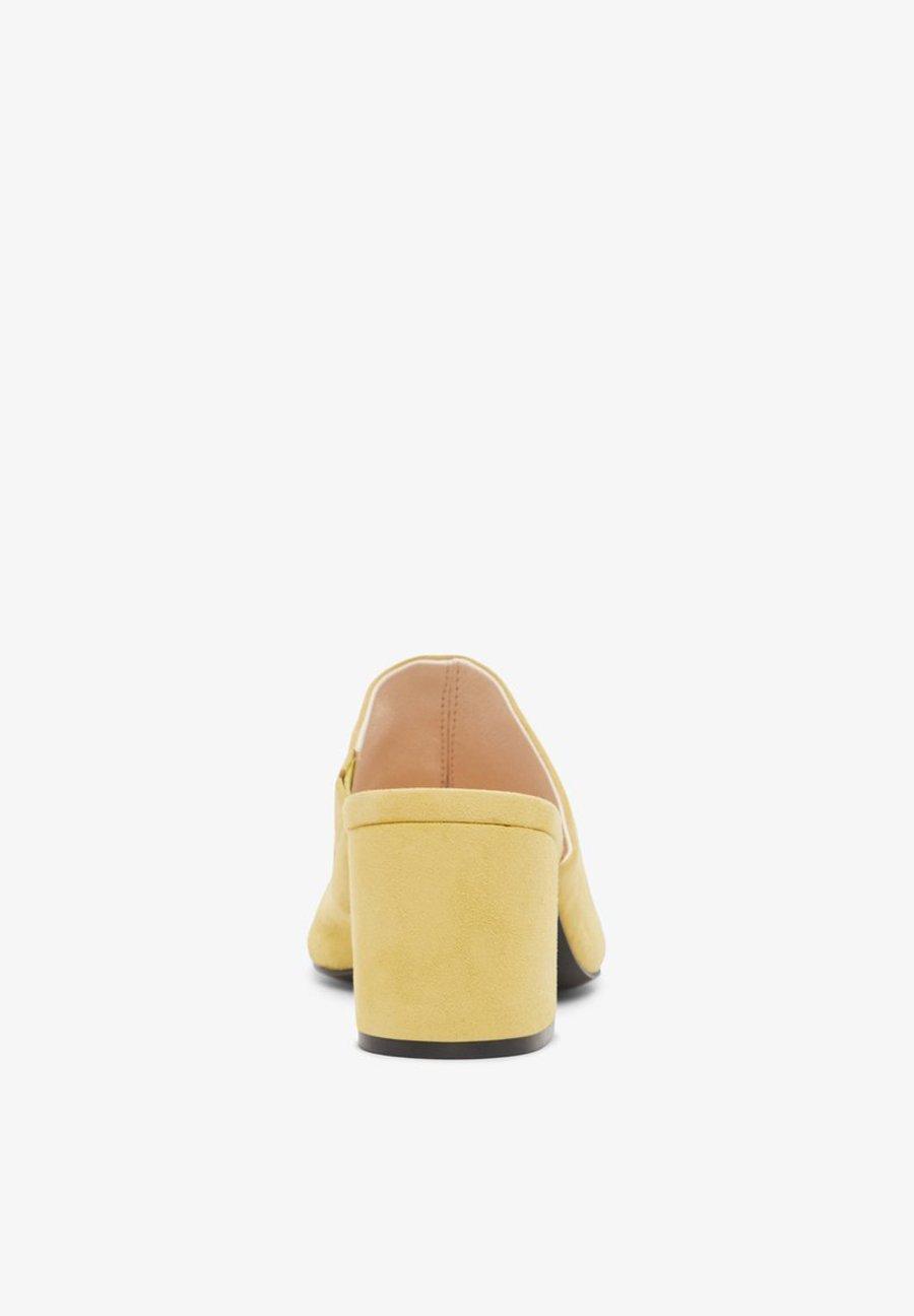 Bianco BIACATE Slip-ins med klack light yellow
