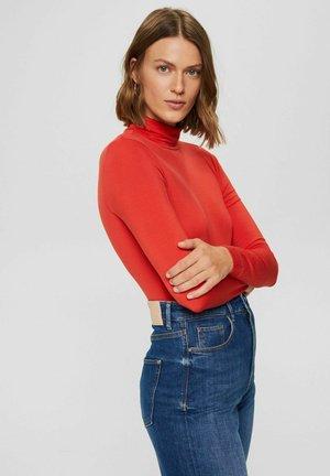 LONGLSEEVE - Long sleeved top - orange red