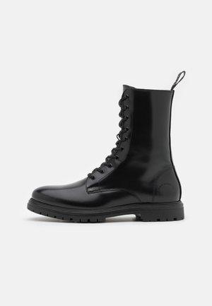 CORY  - Šněrovací kotníkové boty - black