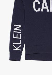 Calvin Klein Jeans - STAMP LOGO  - Trui - blue - 2