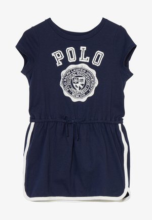 GRAPHIC DRESSES - Jersey dress - french navy