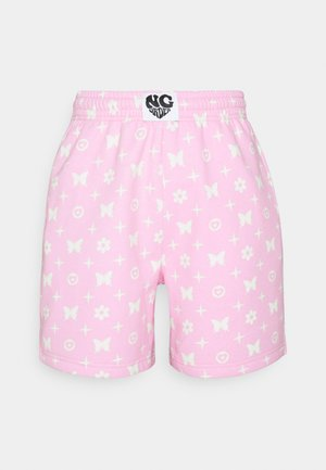 BUTTERFLY MONOGRAM  - Shorts - pink