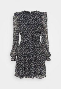Vero Moda - VMHIBISCUS SHORT DRESS - Day dress - navy blazer/liberty - 0