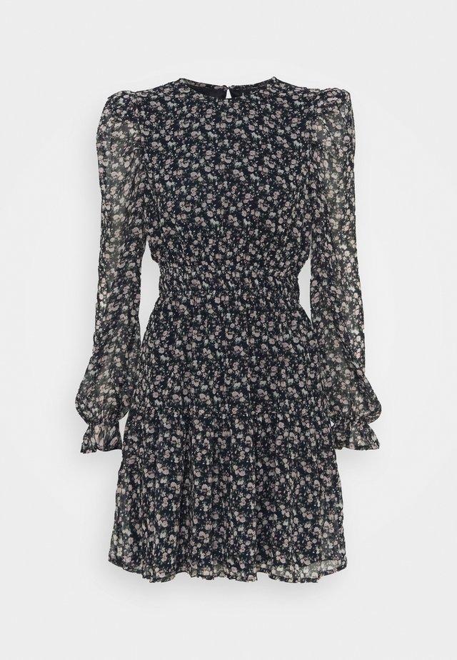 VMHIBISCUS SHORT DRESS - Kjole - navy blazer/liberty