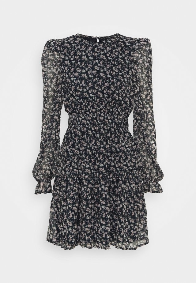 VMHIBISCUS SHORT DRESS - Korte jurk - navy blazer/liberty