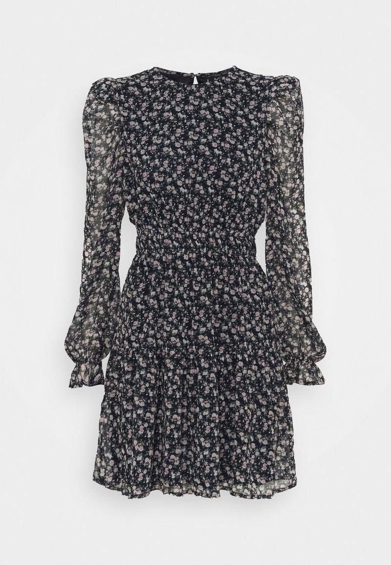 Vero Moda - VMHIBISCUS SHORT DRESS - Day dress - navy blazer/liberty