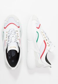 Mercer Amsterdam - Sneakersy niskie - red/green/white - 1