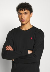 Polo Ralph Lauren - LONG SLEEVE - Bluzka z długim rękawem - polo black - 3