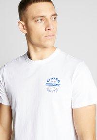 G-Star - ORIGINALS LOGO GR - Print T-shirt - white - 5