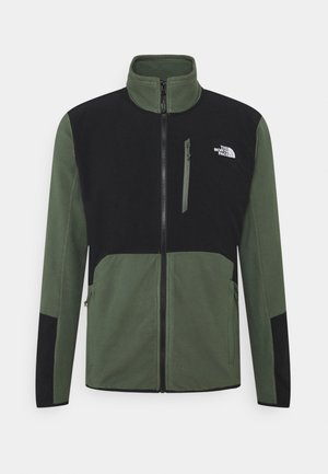 GLACIER PRO FULL ZIP - Fleece jacket - thyme/black