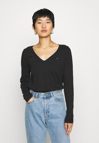 Tommy Hilfiger - CLASSIC - Long sleeved top - black - 0