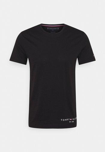 LOGO TEE - T-shirt con stampa - black