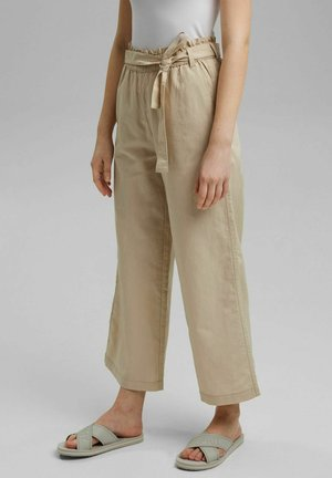 FLOATY PANT - Trousers - beige